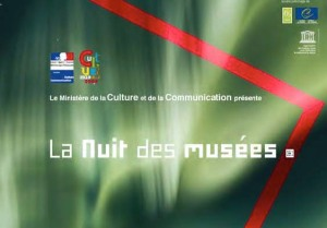 Front cover of the 2009 Nuits des Musees programme