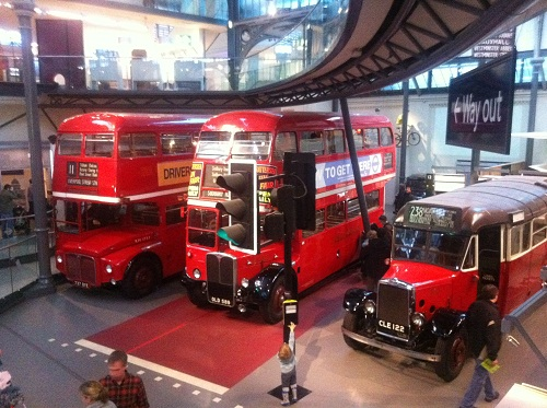 London Buses at Night London Buses on Show at The