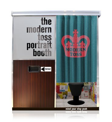 a reworked photo booth