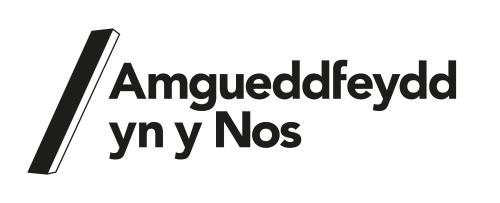 amgueddfeydd yn y nos logo