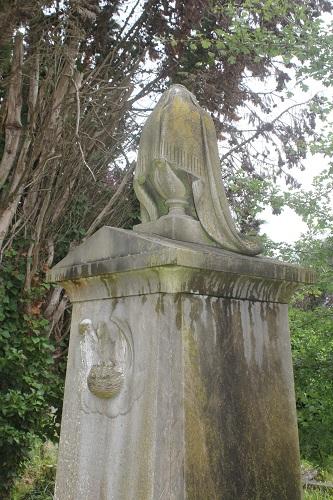 A Victorian grave ornament